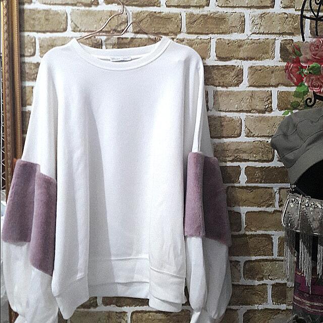 Zara Sweater Fur