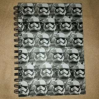 Star Wars' Stormtroopers Notebook