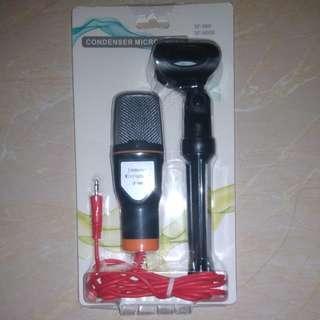 Mikrofon Kondenser Studio dengan Stand - SF666