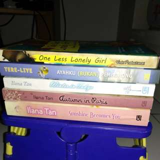 Novel Ilana Tan & Tere Liye