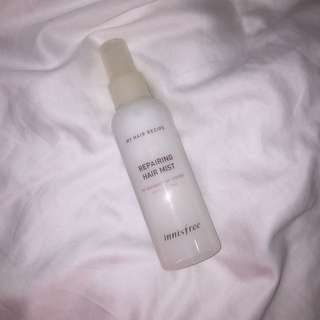 Innisfree repairing hair mist
