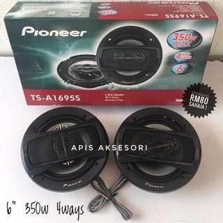"""Speaker 6"""" Jenama Pioneer"""