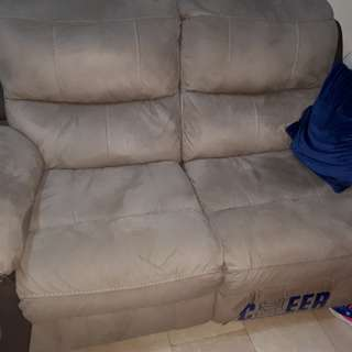 Cheers couch lazyboy type slightly used only