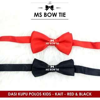 Dasi kupu anak import hitam