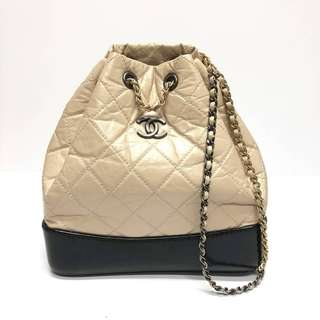 Authentic Chanel Small Gabrielle Backpack
