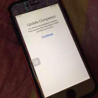 IPhone 6 space gray64gb(original)(defect)