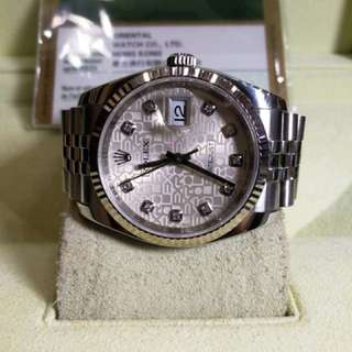 Pre owned Rolex Datejust 116234