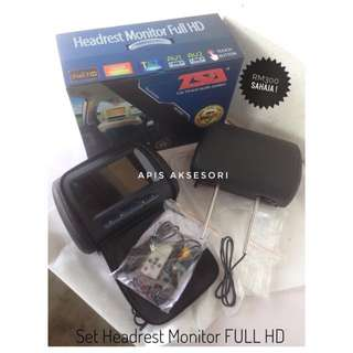 Universal Set Headrest Monitor Full HD