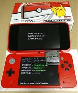 new2dsLL破解最新b9s磁鐵法軟改3DS破解! 任何型號版本皆可, 可修改存檔 匯出存檔 電腦用修改器改save 如 mhxx pokemon都可, mhxx可改save傳去nintendo switch NS , 非ps4 psvita iphone x