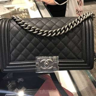Authentic Chanel Medium Boy