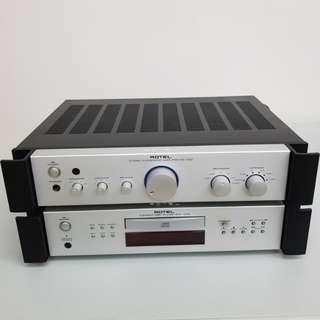 Rotel Audio Hifi System
