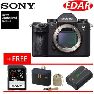 SONY A9 BODY ONLY (ORIGINAL & OFFICIAL SONY)