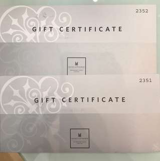 Grand Copthorne Waterfront Hotel dining vouchers $200