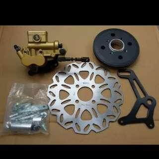 FZ16 rear disc brake set