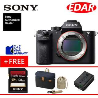 Sony A7S Mark II / A7S Mark 2 Body Only (ORIGINAL & OFFICIAL SONY)