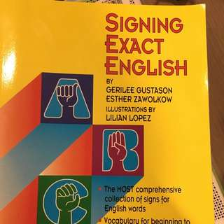 Sign Language Dictionary