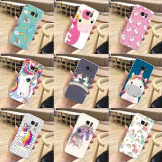 [FREE DELIVERY] (iPhone & Samsung) Unicorn phone cases