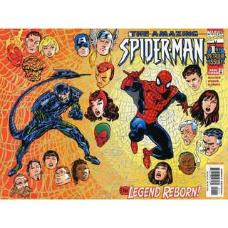 the AMAZING SPIDER-MAN #1 (1998) 1st Issue!