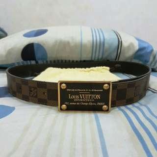 Louis Vuitton LV Inventeur reversible belt original not hermes gucci