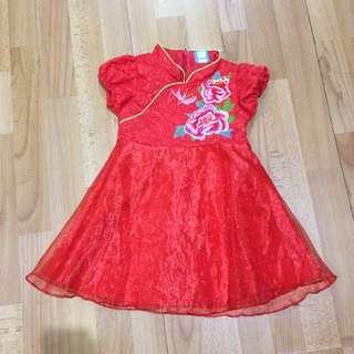Dress imlek cheongsam