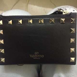 100%new Valentino銀包加散紙包
