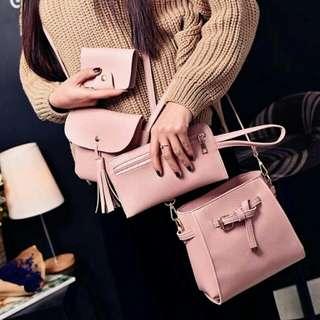 YQY❤ 4 in 1 set Korean Bag