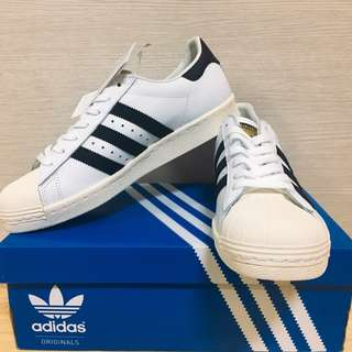 【全新】Adidas superstar 金標