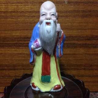 Porcelain-小壽星H8cm