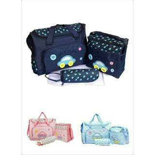 Baby Cute Diaper Bag 3 in 1 et Baby Bag