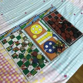 Old School Vintage Board Games Set