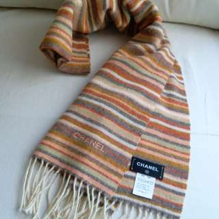 (98%New!)Chanel Vintage Scarf 頸巾 圍巾