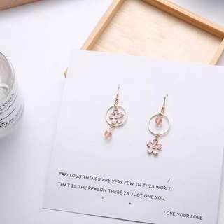 Sakura Flowery Earrings