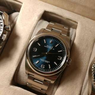 Rolex oyster perpetual 36mm ref. 116000 Blue 369 dial