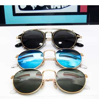 Ray Ban Round Metal sunglasses rb3447 50mm size