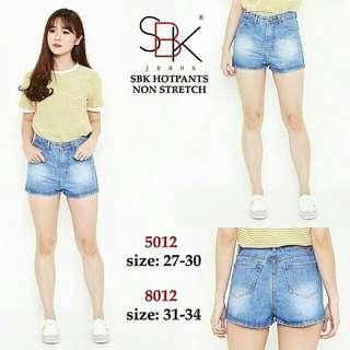 BC Highwaist hotpants 5012-8012 MEREK SBK
