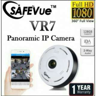 CCTV Panoramic 360 ip camera with WiFi networks and Mobile Apps