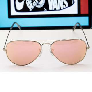 RAY BAN AVIATOR FLASH LENSES LENSES: Copper FlashModel code: RB3025 019/Z2 58-14 RAY BAN BRAND NEW