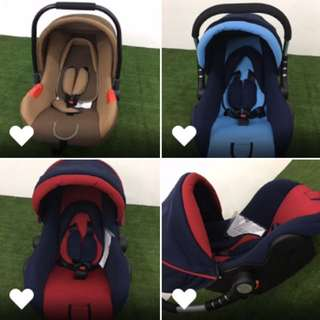 BABY PORTABLE CARSEAT, CARRIER & ROCKER