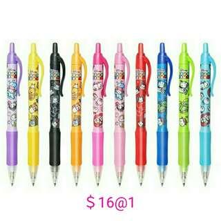 日本迪士尼 TsumTsum 水筆 啫喱筆