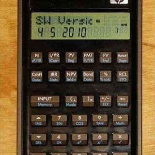 Hp20b financial calculator 2手 90%new HKEAA APPROVAL call: 56690941
