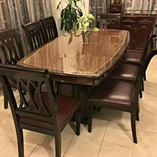 Versace Dining table Set
