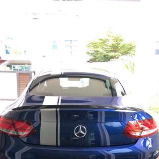 Mercedes Benz CF Rear Spoiler (BRAND NEW)