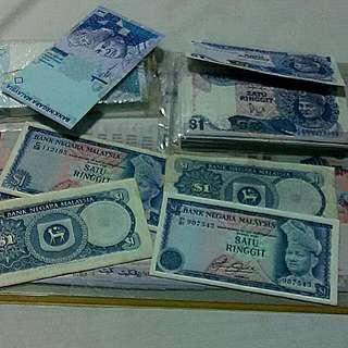 Duit Lama - Ringgit Malaysia Nota RM1
