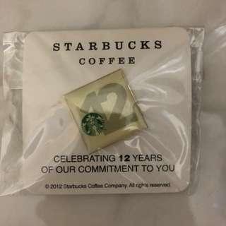 Starbucks扣針,極具紀念價值👍🏻