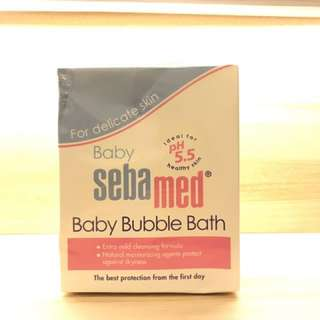 Sebamed baby bubble bath 200ml. Real pict.