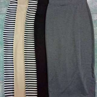 Preloved Maxi Skirts with Side Slit