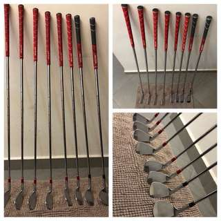BFG CB003 Forged irons 5-PW & Vx1 + Vx5 Forged Wedges (All KBS shaft)