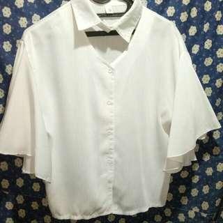 Choker blouse