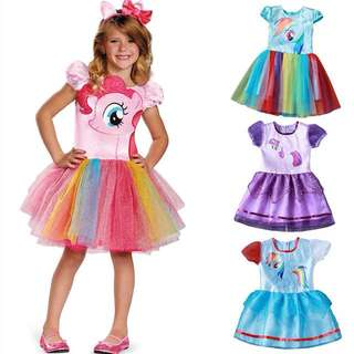 🌸KIDS GIRL MY LITTLE PONY COSPLAY PRINCESS TUTU DRESS🌸
