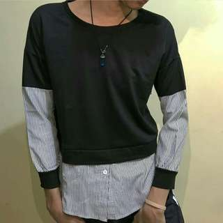 Unisex Black Stripes Shirt (Po HK)